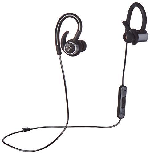 JBL Reflect Contour 2 Wireless In-Ear Headphones – Black – JBLREFCONTOUR2BAM (Renewed)