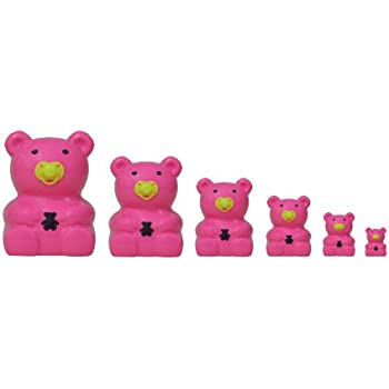 Matryoshka Madness Pink Teddy