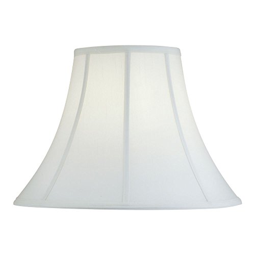 Eggshell Silk Bell Lamp Shade with Spider -