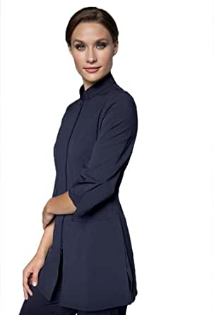 spa uniforms women 39 s urban fusion xxxxxl navy at amazon
