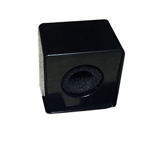 Square Microphone Station Logo Black - 7