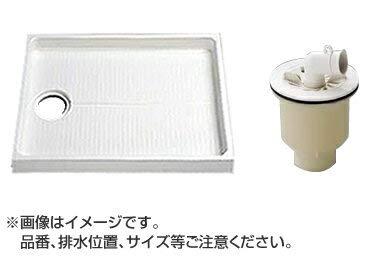 TOTO セット品番【PWSP80LJB2W】 洗濯機パン[PWP800LB2W]サイズ800+縦引トラップ[PJ2009NW]   B071RFNYDQ