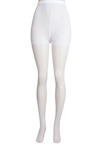 Lissele Women's Plus Size Day Sheer Pantyhose (Pack of 3) (White, 1x)