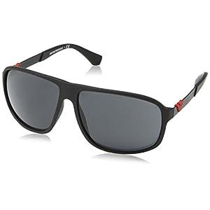 Emporio Armani EA 4029 Men's Sunglasses Black Rubber 64