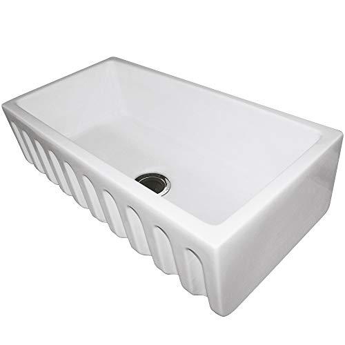 Sink Apron Fireclay Kitchen Bowl (Fireclay sink, 36