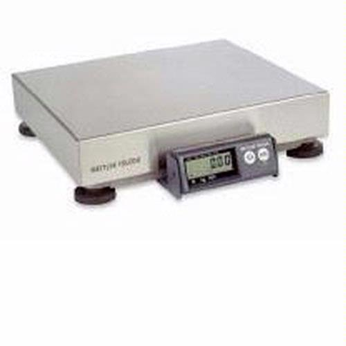 Mettler Toledo PS60U5101-000 Model PS60 Parcel Scale (150pounds / 60kilograms Capacity) with ABS Flat Top Platter, GEOCAL Calibration, RS232 Computer Interface for Use with Carrier Manifest Software