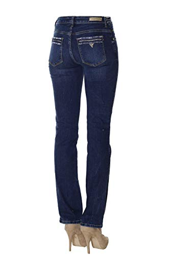 W84a15d3bn1 Tweedy Guess Straight Jeans Blue Donna Aisn Sexy I1IrY