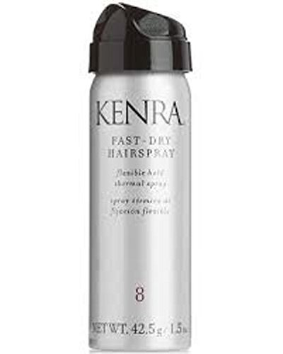 Kenra #8 Fast Dry Flexible Hold Thermal Hairspray Travel Siz