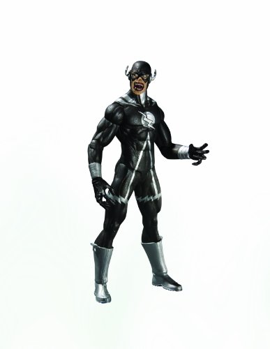 DC Direct Blackest Night: Series 8: Black Lantern Black Flash Action Figure ()