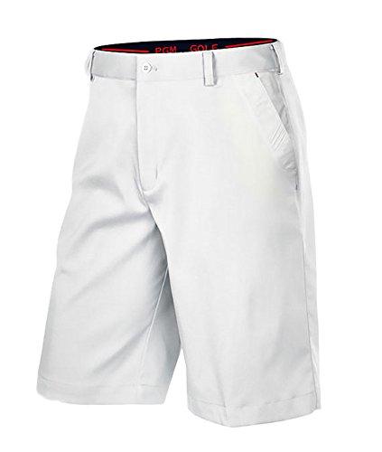 メンズ ゴルフ ハーフパンツ パンツ ストレッチ 吸汗性 速乾性 通気性 薄手 ポケット付き 多色 多サイズ ゴルフウェア