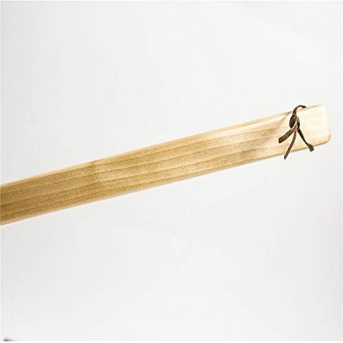 シューホーン 靴オフ男女木製靴べらポータブル簡単に着用テイクに適し シンプルなデザインと耐久性 (色 : Multi-colored, Size : 53cm)