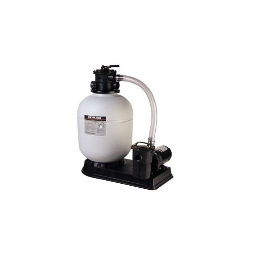 Hayward S180T1585STL 18-Inch Pro Series Sand Filter System with 1-1/2 HP Power-Flo LX Pump and Twist Lock Cord by Hayward
