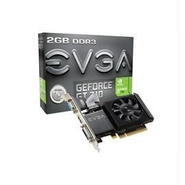 eVGA VCX 02G-P3-2713-KR GeForce GT 710 2GB DDR3 PCI Express Single Slot Low Profile DVI-I/HDMI/VGA Electronics