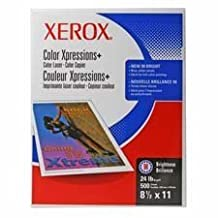 """Xerox Products - Copy/Printer Paper, 98 GE/114 ISO, 24Lb, 11""""x17"""", 500/RM, WE - Sold as 1 PK - Digital Color Xpressions Plus paper delivers great image quality for all color copying and printing. Premium uncoated digital printing paper offers a smooth surface and high opacity. Digitally optimized for color applications. Intended for higher-end professional color applications such as posters and brochures. Color Xpressions+ paper makes text and graphic documents easier to read. 24 lb. by Xerox"""