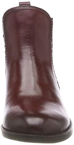 Chelsea Bordeaux 507 MARCO TOZZI 25315 Boots Ant Women's Red premio 21 XA4wAx76q