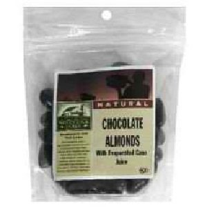 Woodstock Farms B07413 Woodstock Dark Chocolate Almonds - 15x3.5 Oz by Woodstock Farms