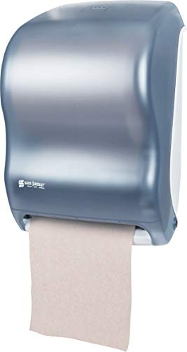 San Jamar T1300 Classic Tear-N-Dry Electronic Touchless Roll Towel Dispenser, Fits 8