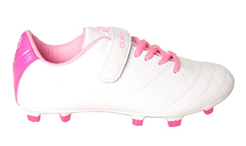 Kid Soccer White Lace Girls Kid Up Gavin Lightweight Little Big Shoes n6qg05nxpw