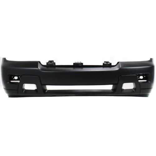 Chevy Trailblazer Bumper - Perfect Fit Group REPC010304P - Trailblazer Front Bumper Cover, Primed, W/ Fog Lamps, Lt Model