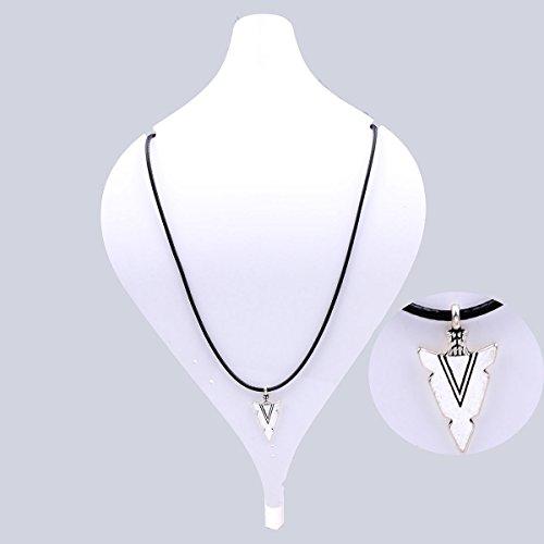 Fashion Women Jewelry Black Leather Chain