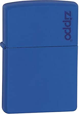 Zippo Royal Blue Matte Lighter 229zL