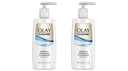 OLAY Gentle Clean, Foaming Cleanser 6.7 oz (Pack of 2)