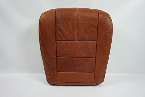 08 09 10 Ford F-350 4x4 Diesel F350 Driver Bottom King Ranch Leather Seat Cover