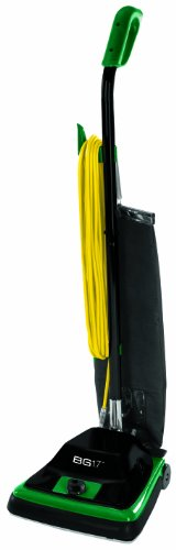 Bissell BigGreen Commercial BG100 ProTough Upright Vacuum with Straight Handle, 870W, 12