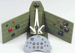 Top Flite Gold Edition - Top Flite Cockpit Interior Kit for Spitfire