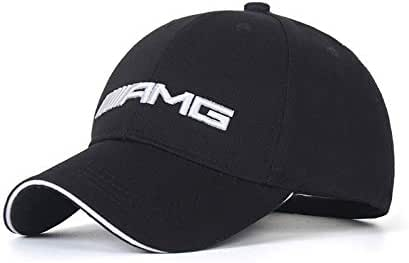 Wall Stickz Logo Embroidered Adjustable Baseball Caps for Men and Women Hat Travel Cap Racing Motor Hat (fit amg)