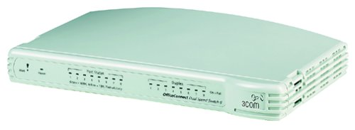 3Com 3C16791-US OfficeConnect Dual Speed Switch 8 Plus