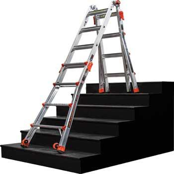 Little Giant 17 Foot Velocity Multi Use Ladder 300 Pound
