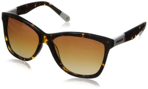 Polaroid X8423s Polarized Wayfarer Sunglasses,Havana,59 - Polariod Glasses