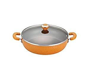 Paula Deen Signature Porcelain Nonstick Covered Chicken Fryer