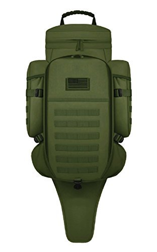 East West U.S.A RT538/RTC538 Tactical Molle Military Assault Rucksacks Backpack, Olive