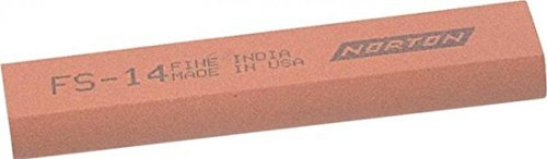 India FS44 Round Edge Slipstone 115mm x 45mm x 13mm x 5mm - Fine INDFS44 by India