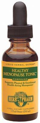 Herb Pharm Tonic ménopause sain - 1 Oz, paquet de 2
