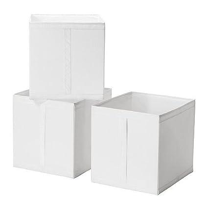 Caja de almacenaje SKUBB -, blanco