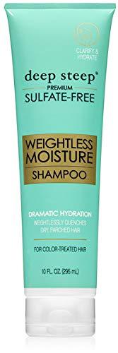 Deep Steep Shampoo Weightless Moisture, 10 Ounce