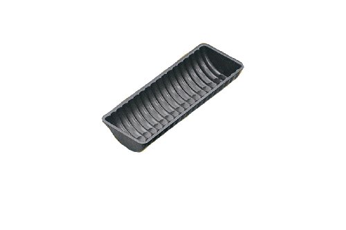 Paderno World Cuisine 12.25 by 4.75 Inch Non-Stick Fluted Loaf Pan