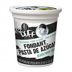 Duff - Buttercream Fondant 2Lb, Black