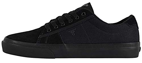 Fallen Men's Bomber Skate Shoe (9 M US, Black/Black)