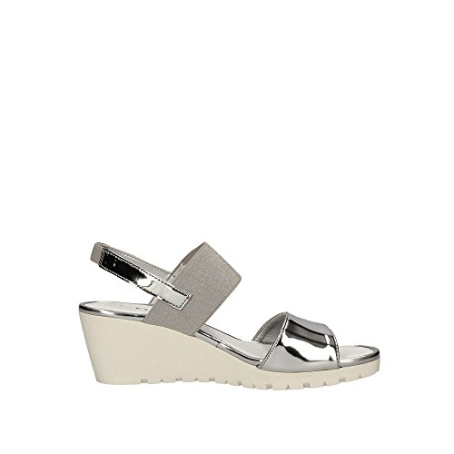 The Bia Woman Wedge Sandal Flexx Silver 44vwgr8q