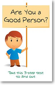 Are You A Good Person? (Packet of 20, KJV) -