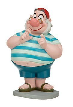 Disney Jr. Jake and the Neverland Pirates 3 inch Mr. Smee Action Figure PVC Figurine (Jake And The Neverland Pirates Action Figures)
