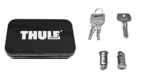 Thule 512 Lock Cylinders for Car Racks - Locking Bike Roof Rack