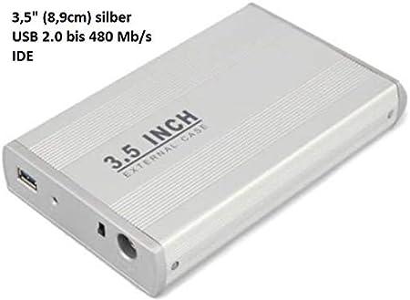 Kescom ITC22010 7,62 cm 8,9 cm carcasa para disco duro USB 2,0 ...
