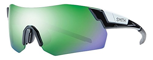 Smith Pivlock Arena/N Lunettes de Soleil Shiny Black/Green Mirror + Ignitor + Transparent SMi1qL
