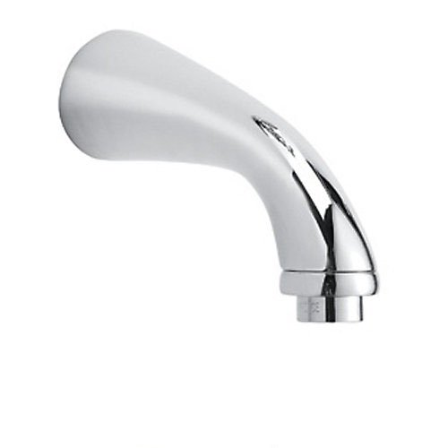 Rohl C1703APC Country Bath Verona and San Julio Wall Mounted Tub Spout with 7-Inch Reach and 3/4-Inch F Npt Inlet, Polished - Mount Inlet 0.75' Wall