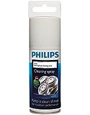 Philips Reinigingsspray voor scheerhoofden - Met Cool Breeze-geur - Reinigt en smeert de scheerhoofden - Voor alle elektrische scheerapparaten - HQ110/02